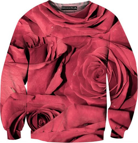 Roses 100% Cotton Sweatshirt