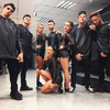 Dancers at Jason Derulo show at Palau santjordi - 40 principales awards