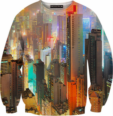 Hong kong 100% Cotton Sweatshirt