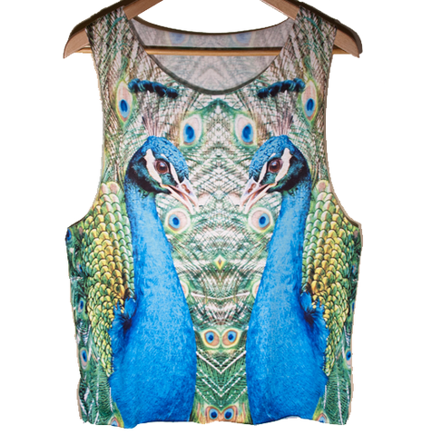 Peacocki Tank top