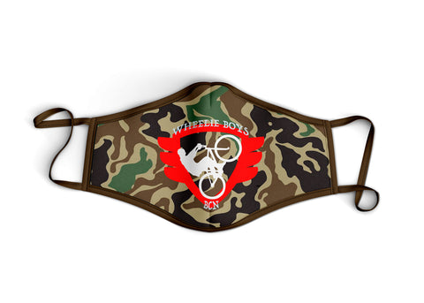 Red Logo Brown Camo