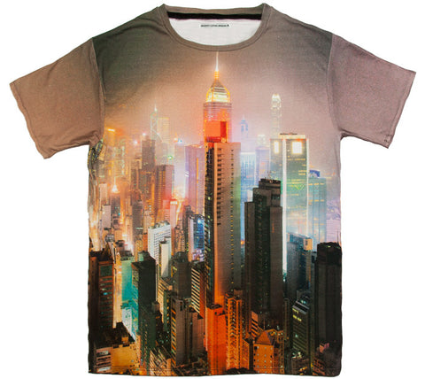 Hong kong t 100% Cotton Tee