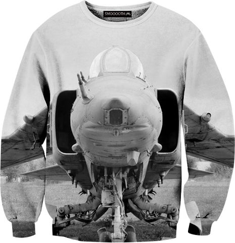Jet fighter 100% Cotton Sweatshirt