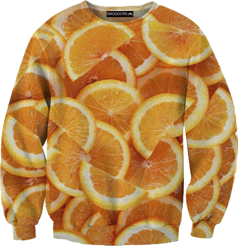 Oranges 100% Cotton Sweatshirt
