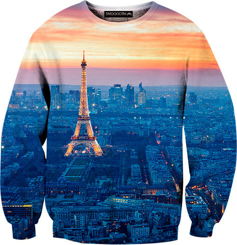 Paris 100% Cotton Sweatshirt