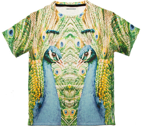 Peacock t 100% Cotton Tee