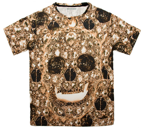 Skull bling t 100% Cotton Tee