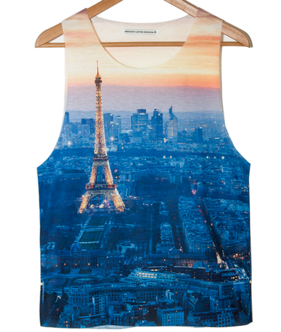 Paris Tank top