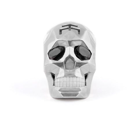 Silver Skull Fateced Necklace