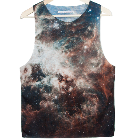 Blue infinite Tank top