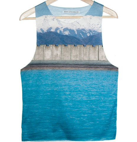 Nz blue Tank top