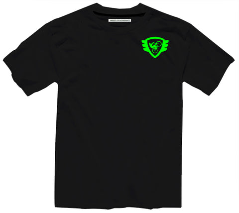 Black T Green Logo