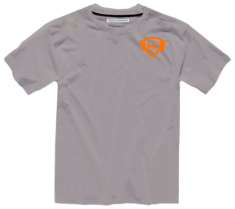 Grey T Orange Logo