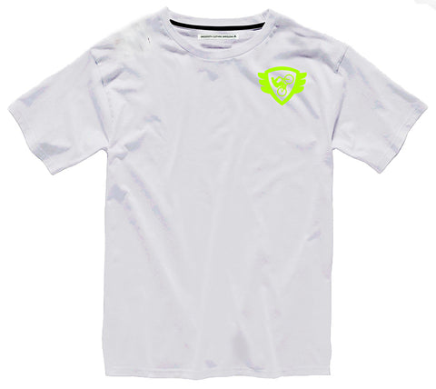 White T Lime Logo