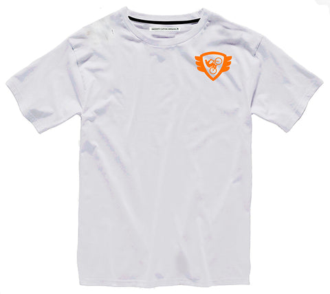 White T Orange Logo