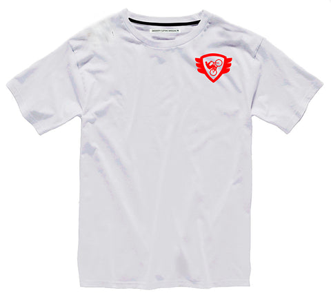 White T Red Logo