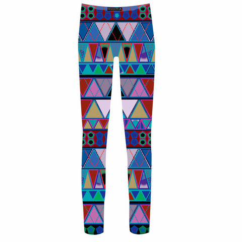 Poncho pich leg Leggings