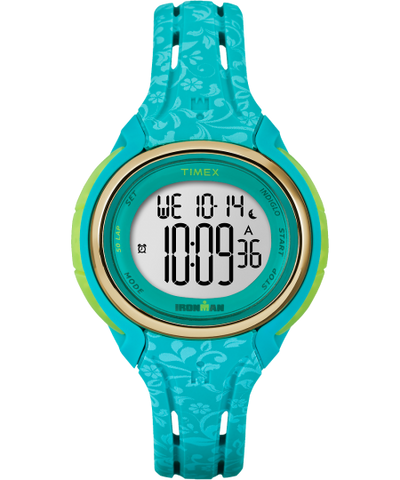 Timex Sleek 50 Mid Size Aquamarine