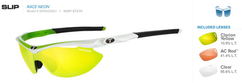 Sunglasses - Slip Race Neon