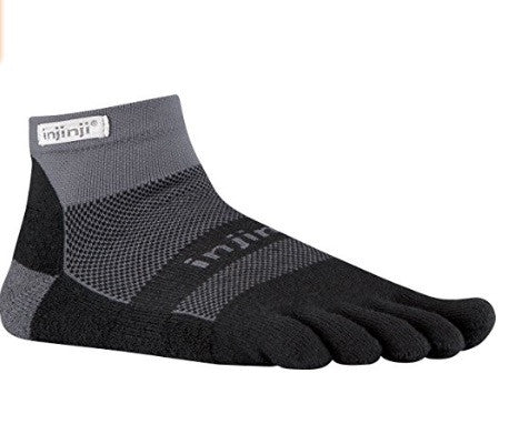 Injinji Trail Toe Socks Mini Crew