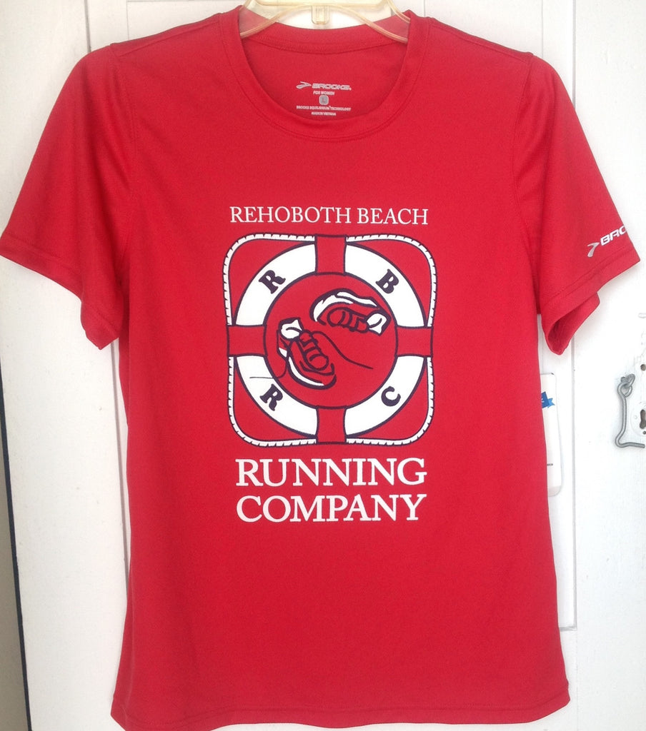 RBRC T-shirt unisex sized red
