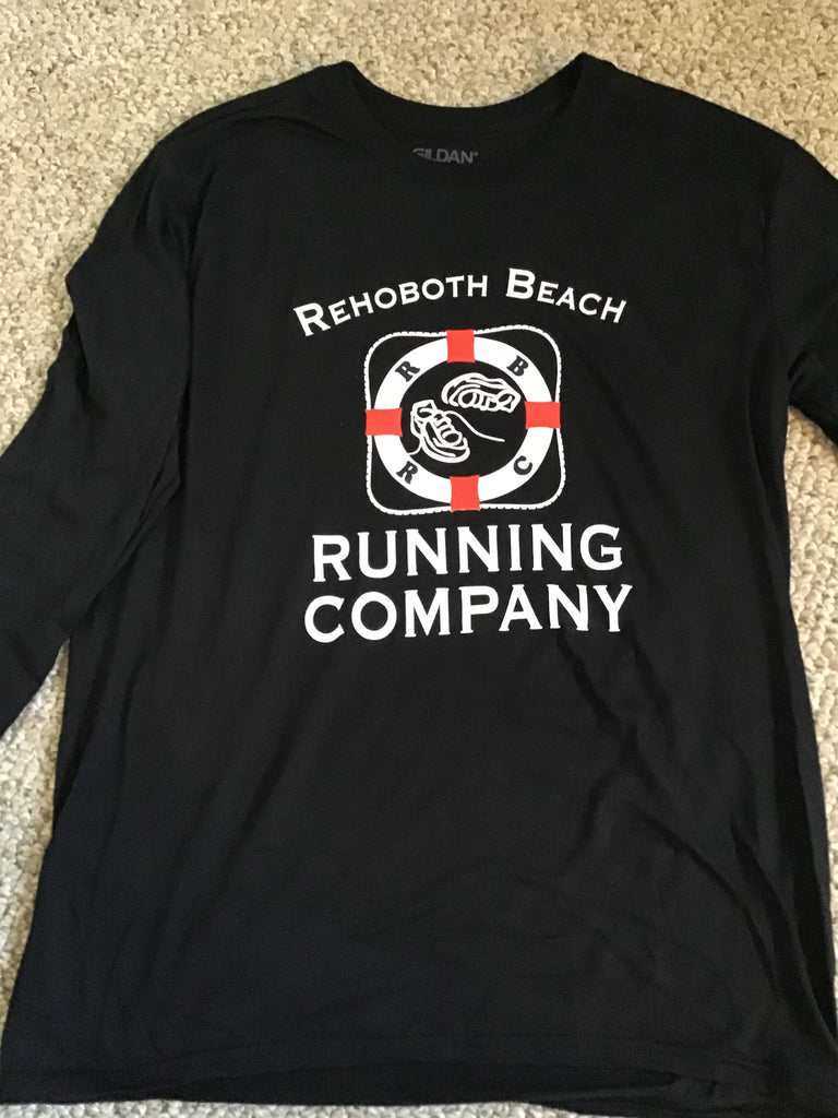 Men's RBRC Long Sleeve Black Performance Shirt