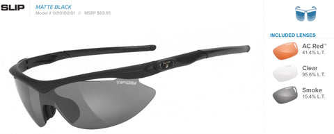 Sunglasses - Slip Matte Black