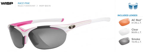 Sunglasses - Wisp Race Pink