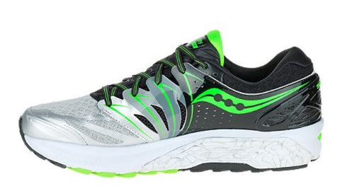 Saucony Men's Hurricane ISO 2 Silver/Green