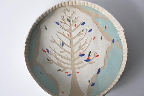 Tart Dish for wall hanging (tree)