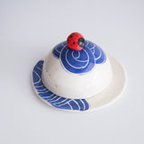 Ladybird Butter Dish, various colours