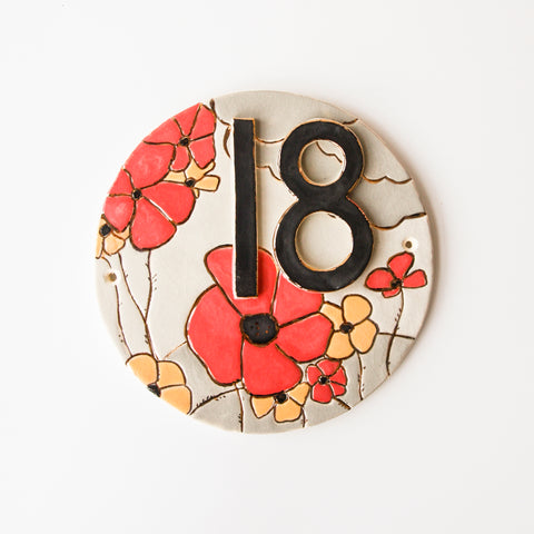 'Bloom' House Sign, 3 designs avaliable