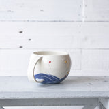Insect Globe Cups in Blue