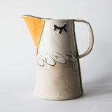 BIRD JUG, with strainer