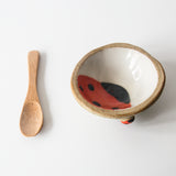 Tiny Bowl and Spoon set, Bees and Ladybirds