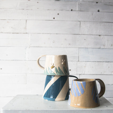 'make your own CUP', one-off pottery class