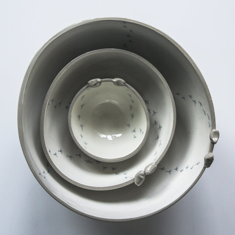 Tweet Bowl, GREY, 3 sizes available