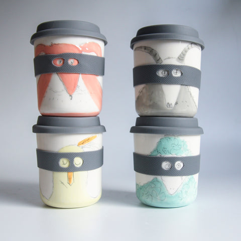 BANDIT / SUPERHERO Reusable Takeaway Cups