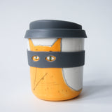 Bandit/Superhero Reusable Takeaway Cups ; IRISH FAUNA