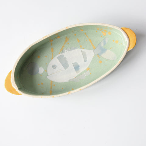 Small Oval Oven Dish - Fish Dish