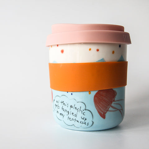 ENVIRONMENTAL Reusable Takeaway Cups, available to pre-order