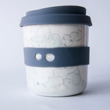 Bandit/Superhero Reusable Takeaway Cups ; FARM ANIMALS