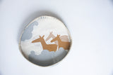 Tart Dish for wall hanging (deer)