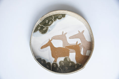 Tart Dish - Walking with the Deer