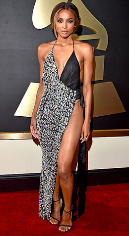Ciara Grammys Red Carpet
