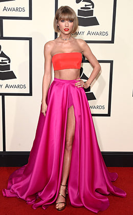 Taylor Swift Grammys Red Carpet