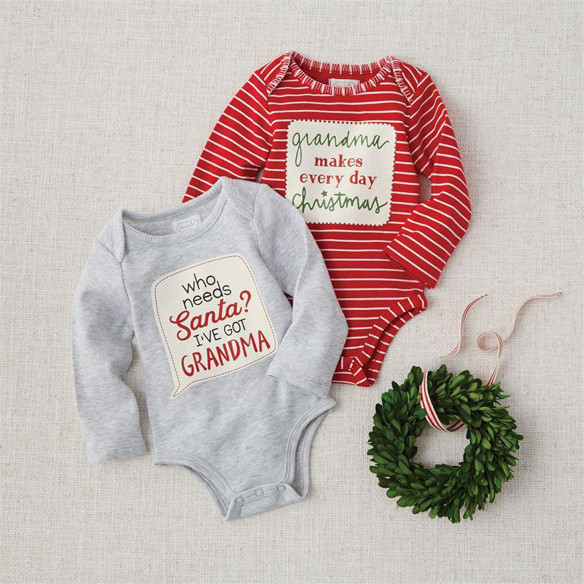 Mud Pie Grandma Christmas Crawler