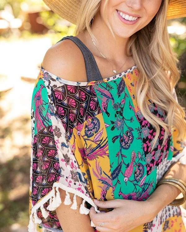 Grace & Lace Tassel Tunic