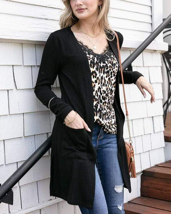Grace & Lace Casual Silky Soft Cardi