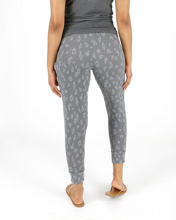 Grace & Lace Weekend Jogger - Grey Cheetah